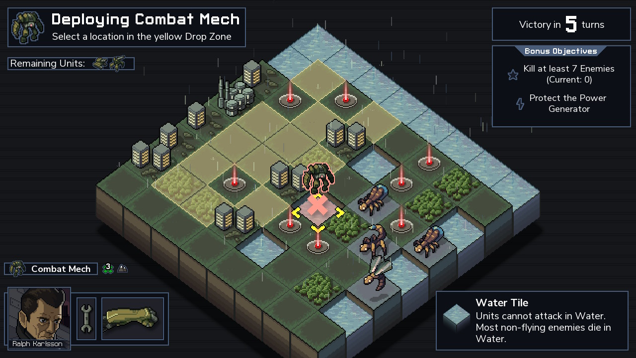 Into the Breach game play