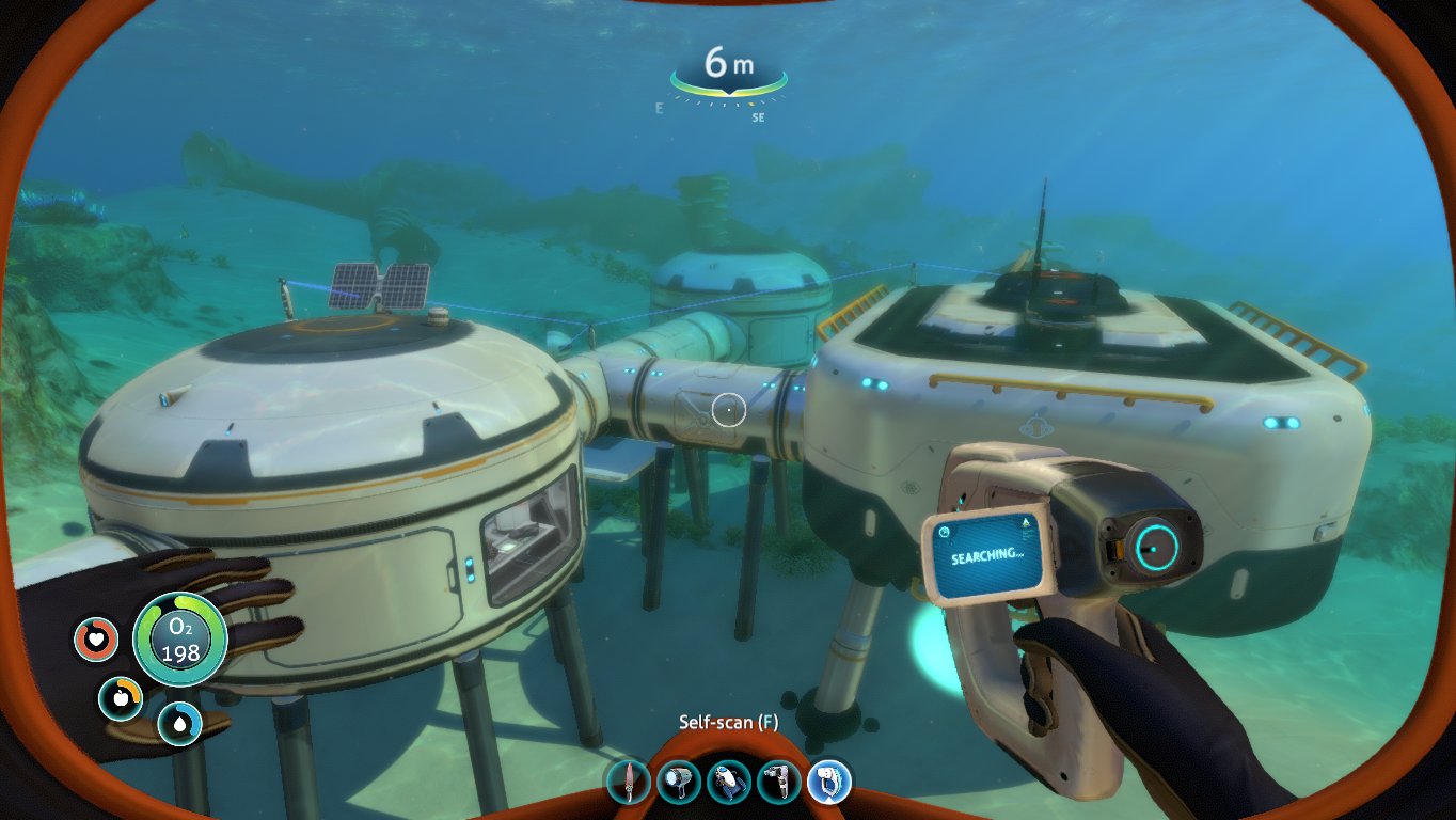 Subnautica game play